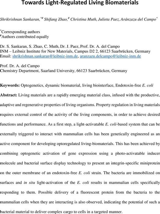 Thumbnail image of Sankaran_Lightregulatedlivingbiomat_chemRxiv.pdf