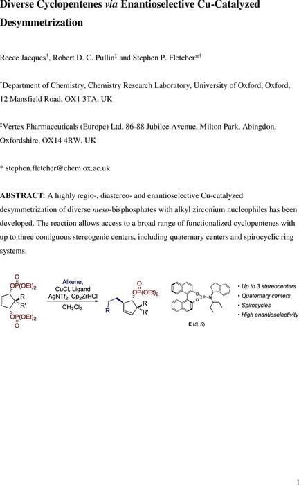 Thumbnail image of Cyclopentene Desymmetrization Manuscript.pdf
