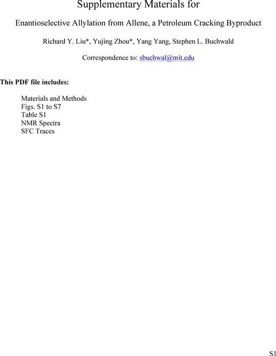 Thumbnail image of allene allylation SI.pdf