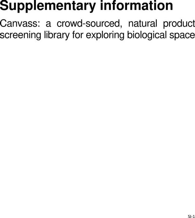 Thumbnail image of Canvass SI.pdf