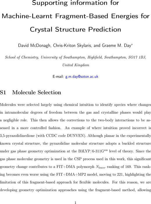 Thumbnail image of Supporting Information for Machine-Learnt Fragment-Based Energies for Crystal Structure Prediction.pdf