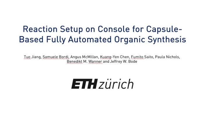 Thumbnail image of Setup of automated capsule-based console.mp4