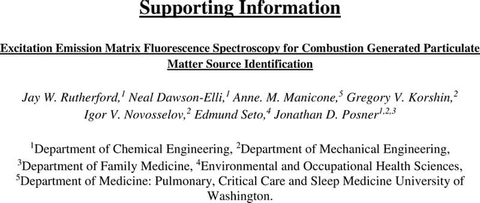 Thumbnail image of Rutherford et al - EEM for Combustion Generated PM Source Id - SI.pdf