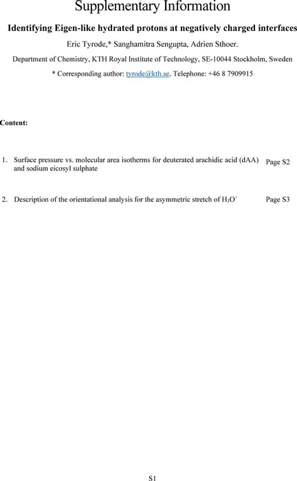 Thumbnail image of Supplementary Information Eigen like protons at the surface.pdf