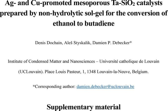 Thumbnail image of Debecker - NHSG Ag Cu TaSiO2 butadiene - Preprint - ESI.pdf