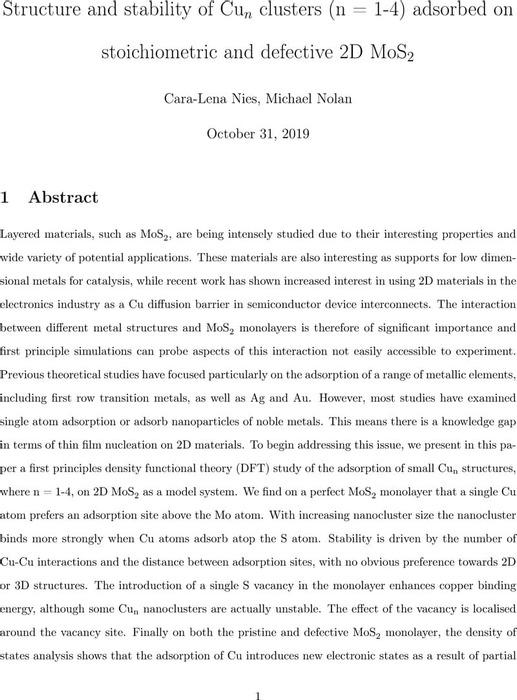 Thumbnail image of Cu MoS2 Nies Preprint.pdf