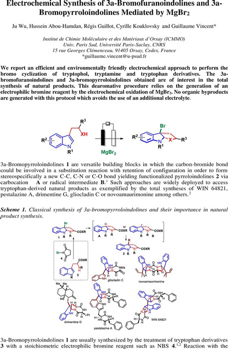 Thumbnail image of electrochemical  bromocyclization of indoles -  ChemRXIV.pdf