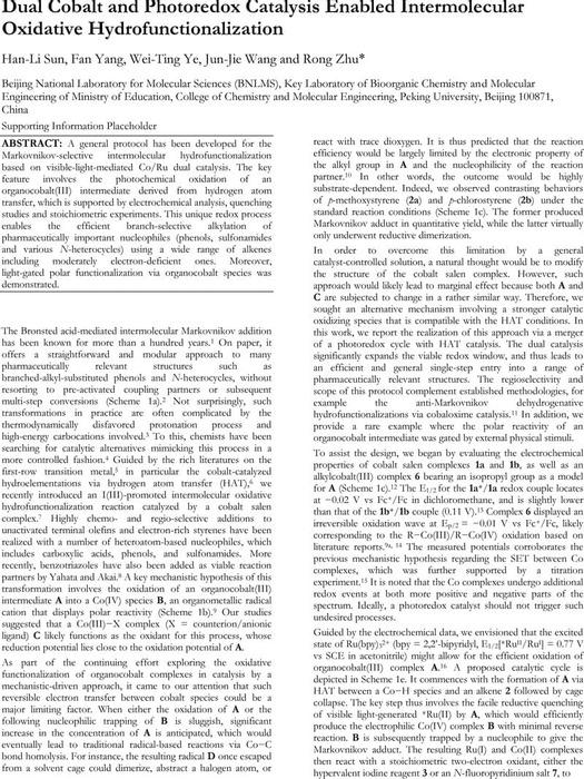 Thumbnail image of Manuscript Dual Catalysis Oxidative Hydrofunctionalization.pdf