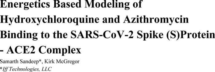 Thumbnail image of Energetics Based Modeling of Hydroxychloroquine and Azithromycin (2).pdf