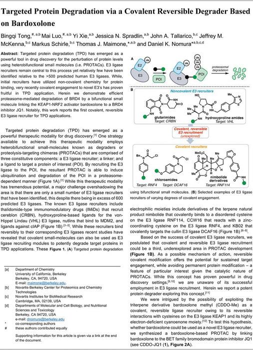 Thumbnail image of Tong Luo Maimone Nomura et al 2020 ChemRxiv combined.pdf