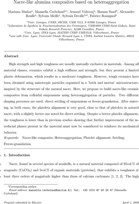 Thumbnail image of Nacre-like alumina composites based on heteroaggregation.pdf