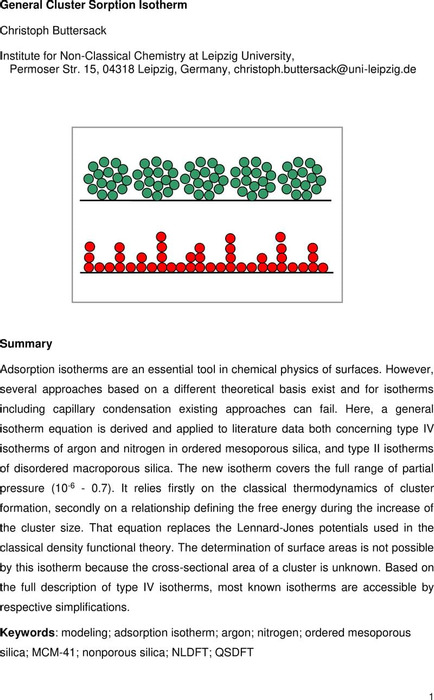 Thumbnail image of General Cluster Sorption Isotherm PCCP .pdf