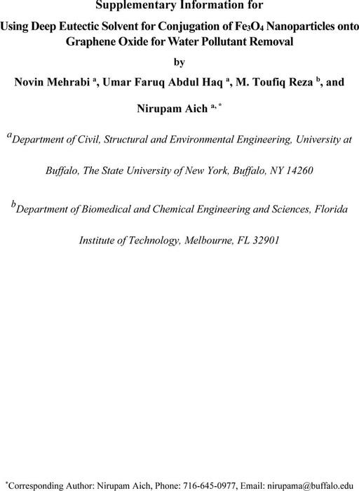 Thumbnail image of Supplementary Information_GO-DES-Fe3O4 Nanohybrid_Mehrabi and Aich et al._040620.pdf