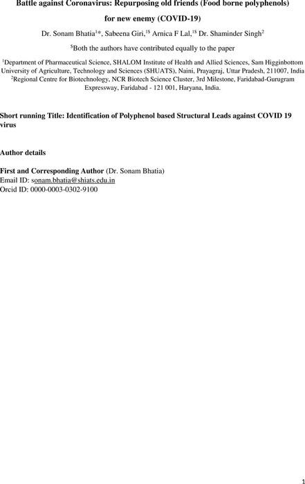 Thumbnail image of Manuscript_Polyphenols_ForCOVID19_chem.pdf