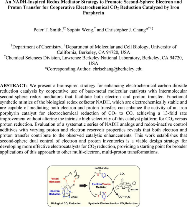Thumbnail image of CJC_FePorph_NADH_Mimic_CO2RR_ChemRxiv_042020.pdf