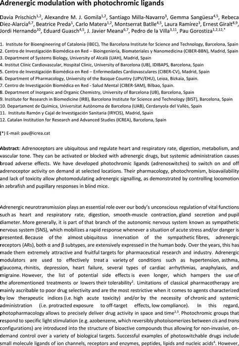 Thumbnail image of Adrenergic modulation with photochromic ligands (main text).pdf
