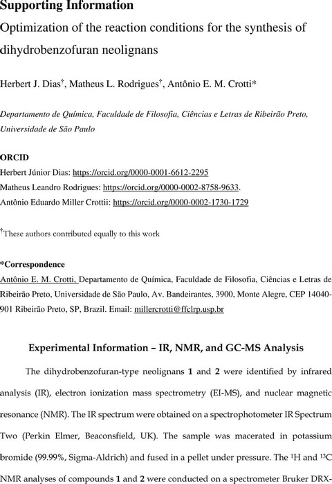 Thumbnail image of Supporting Information - Oxidative coupling optimization (12-05-20).pdf
