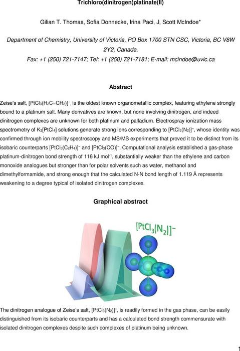 Thumbnail image of J Scott McIndoe - Trichloro(Dinitrogen)platinate(II).pdf