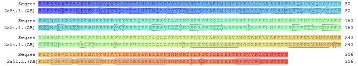 Thumbnail image of alignment_3C like Protein with 2a5i.jpg