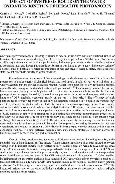 Thumbnail image of Impact_Synthesis_Water_Oxidation_Kinetics_Hematite_ChemRxiv.pdf