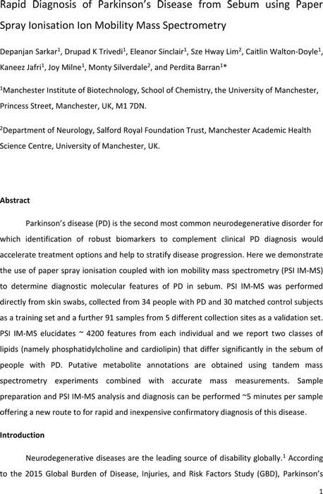 Thumbnail image of D.Sarkar PSI IM-MS Sebum Parkinsons disease.pdf