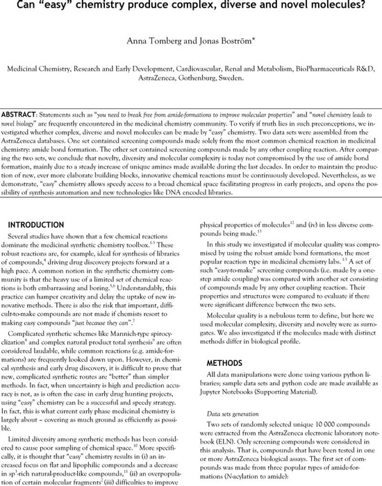 Thumbnail image of ChemrxivEasyChemistryBoström.pdf