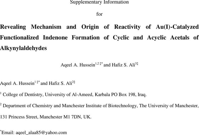 Thumbnail image of SI_Revealing Mechanism and Origin of Reactivity of Au(I)-Catalyzed Functionalized Indenone Formation of Cyclic and Acyclic Acetals of Alkynylaldehydes.pdf