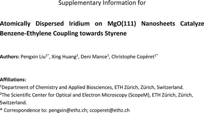 Thumbnail image of Atomically dispersed Ir on MgO 1123 SI.pdf