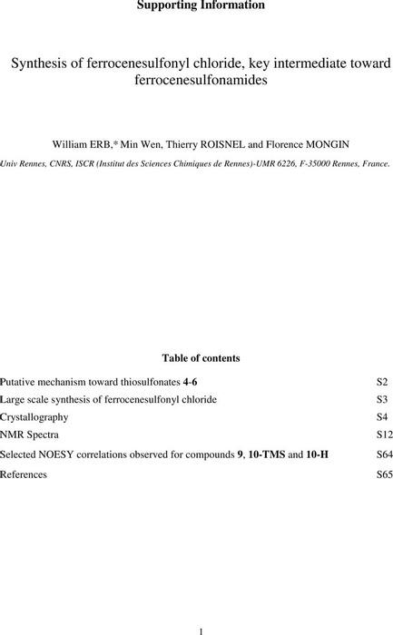 Thumbnail image of PSP - FcSulfonamides - Supporting informations.pdf