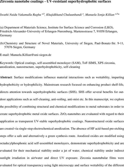 Thumbnail image of UVstable-Zirconia nanotube coatings.pdf