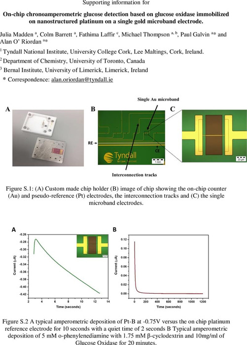 Thumbnail image of SI_On-chip glucose detection based on glucose oxidase encapsulated on a platinum modified gold microband electrode.pdf