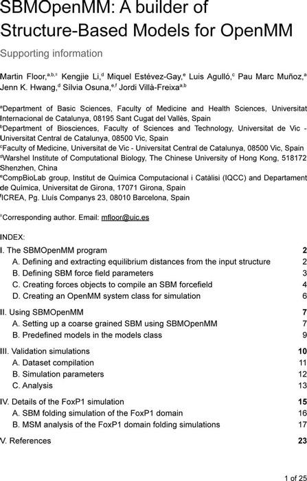 Thumbnail image of SBMOpenMM - Supplementary - JCIM Revision 1.pdf