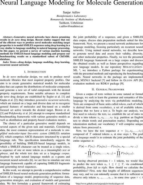 Thumbnail image of Sanjar_Adilov_-_Neural_Language_Modeling_for_Molecule_Generation.pdf