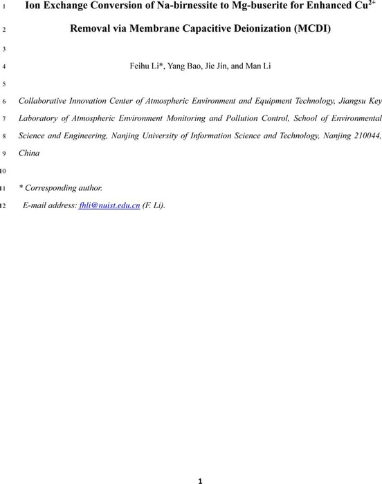 Thumbnail image of 2021_MCDI for Cu2+ removal_R05_ChemRxir.pdf