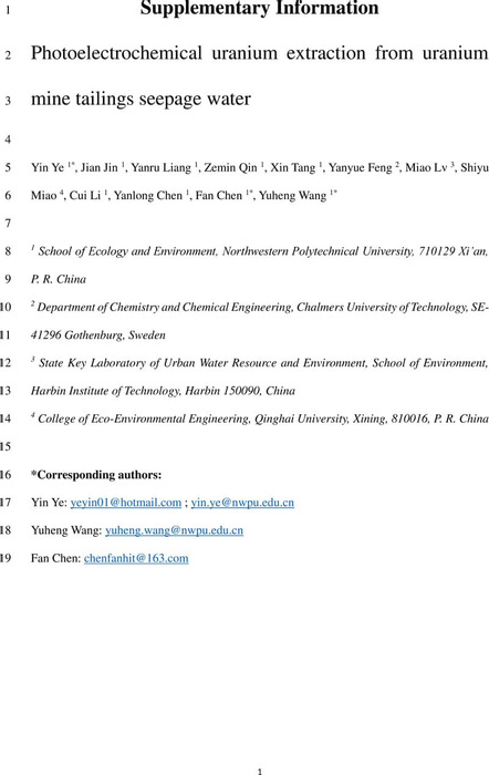 Thumbnail image of PEC uranium extraction - Supplementary information.pdf