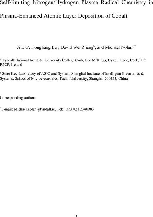 Thumbnail image of Plasma ALD Ji preprint.pdf