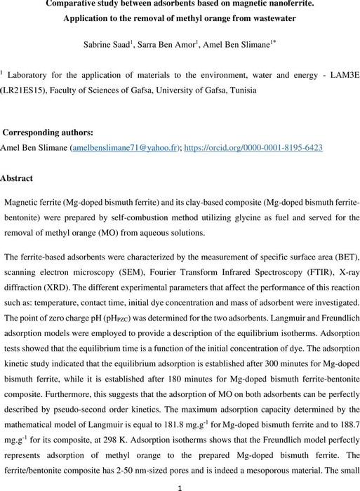 Thumbnail image of article_Remov MO by  Ferrite-Bentonite_2021 09 13.pdf